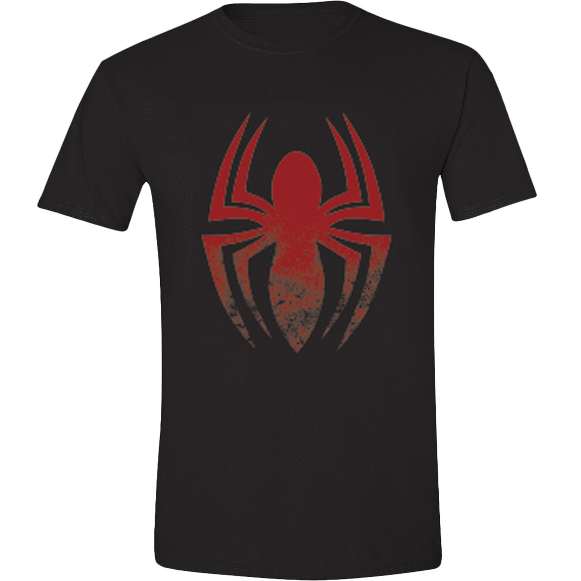 t shirt spiderman araigne