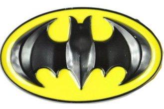 68396c494c4 Boucle de ceinture Batman Jaune   Noir