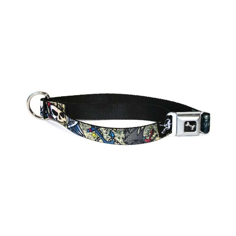 Collier pour chien Dead men pirate
