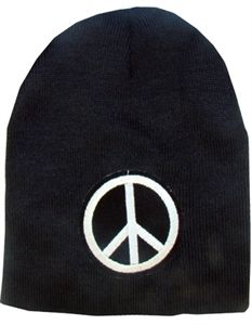 Le Bonnet noir peace and love
