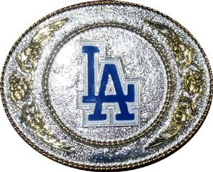 Boucle de ceinture Baseball Los Angeles Dodgers design