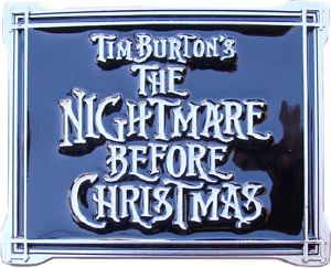 Boucle de ceinture Tim Burton's Nightmare before Christmas