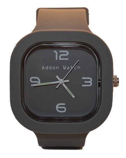 Montre Addon Watch Slim grise