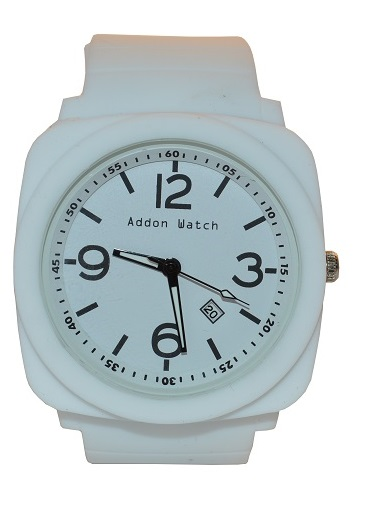 Montre Addon Watch Big blanche