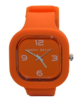 Montre Addon Watch Slim orange