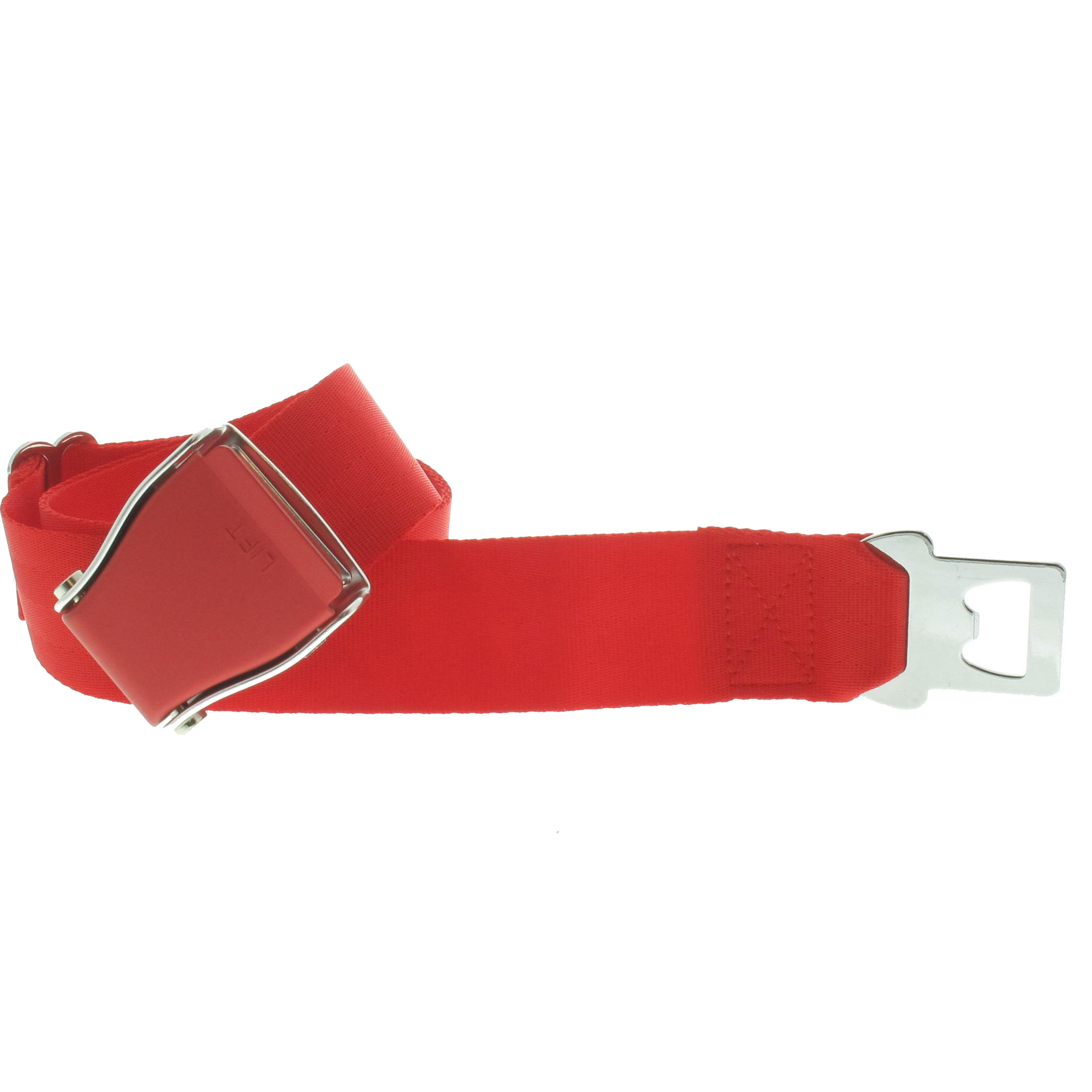 Ceinture Avion total rouge