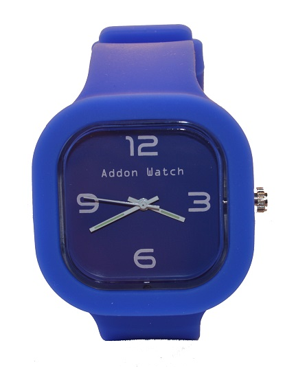 Montre Addon Watch Slim bleue