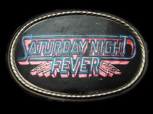 Vintage 1977 - Boucle de ceinture Saturday night fever - Paramount Pictures
