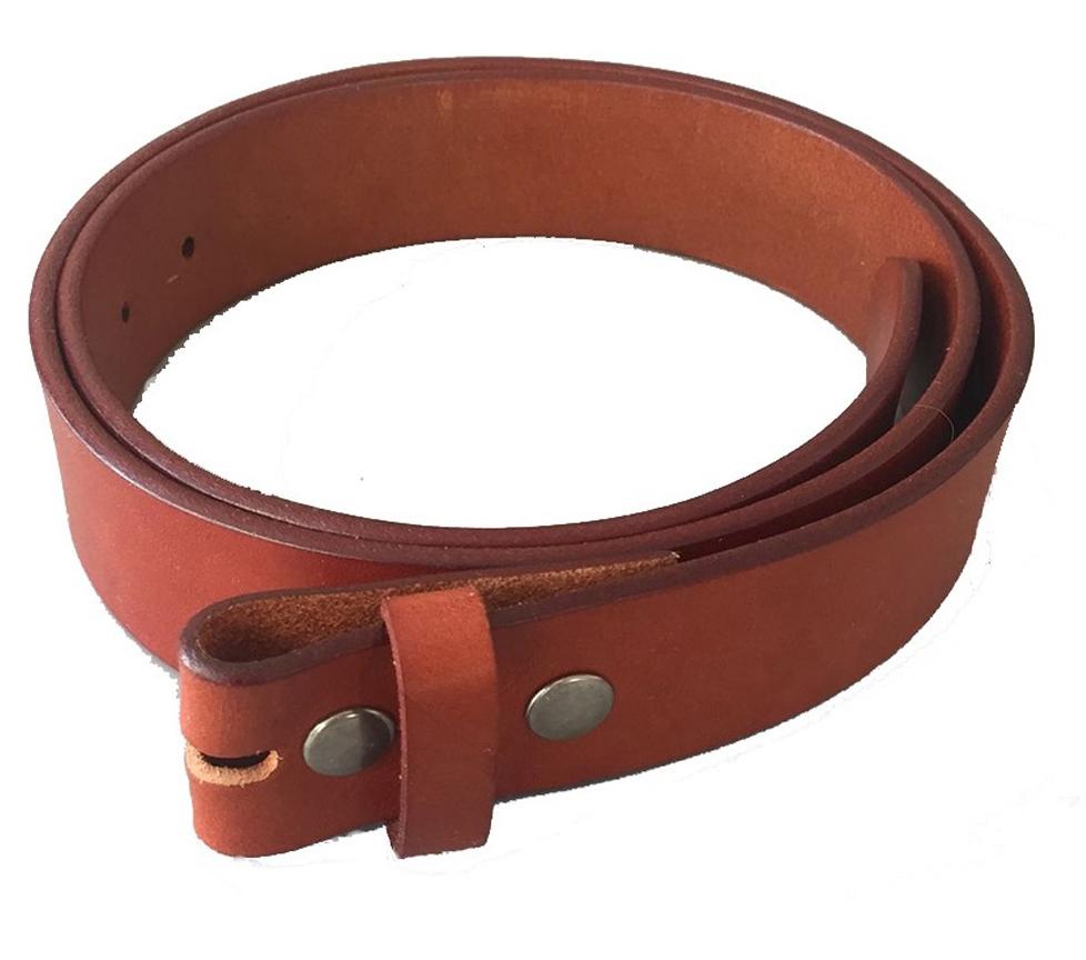 bonne qualité recherche d'authentique sélection premium C09 - Ceinture marron en cuir haute qualité pour boucles de ceinture