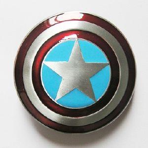 Boucle de ceinture capitaine america bouclier boucle de - Bouclier capitaine america ...