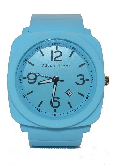 Montre Addon Watch Big Bleu ciel