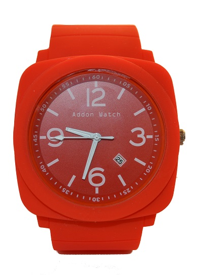 Montre Addon Watch Big rouge