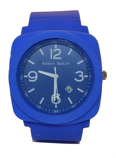 Montre Addon Watch Big bleue