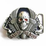 Boucle de ceinture Biker Bad to the bone