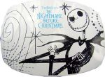 Boucle de ceinture Nightmare before Christmas blanc