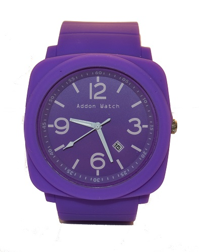 Montre Addon Watch Big violette