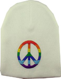 Le Bonnet blanc peace and love