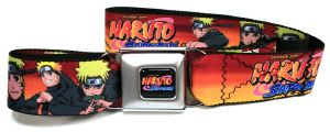 Ceinture Licence Naruto poses
