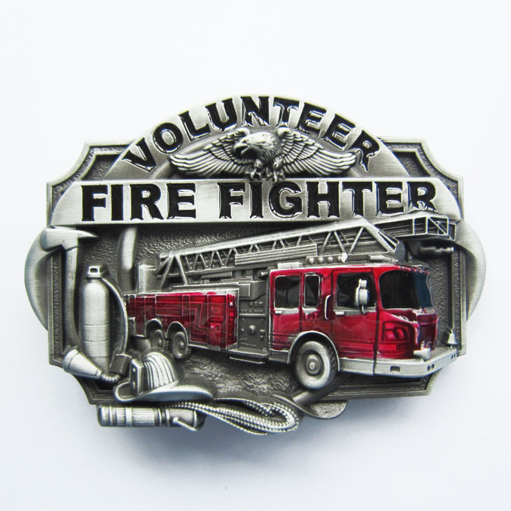 Boucle de ceinture Fire  Fighter volunteer