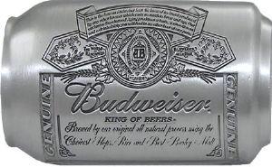 Boucle de ceinture bi re budweiser canette boucle de - Decapsuleur automatique biere ...