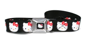 Ceinture Licence Hello Kitty multi faces