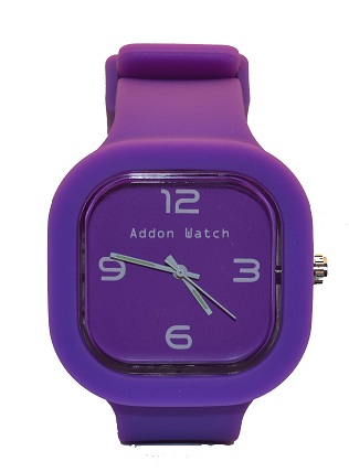 Montre Addon Watch Slim violette