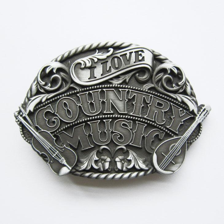 Boucle de ceinture I love country design original - Boucle-de ... ce883eed23b