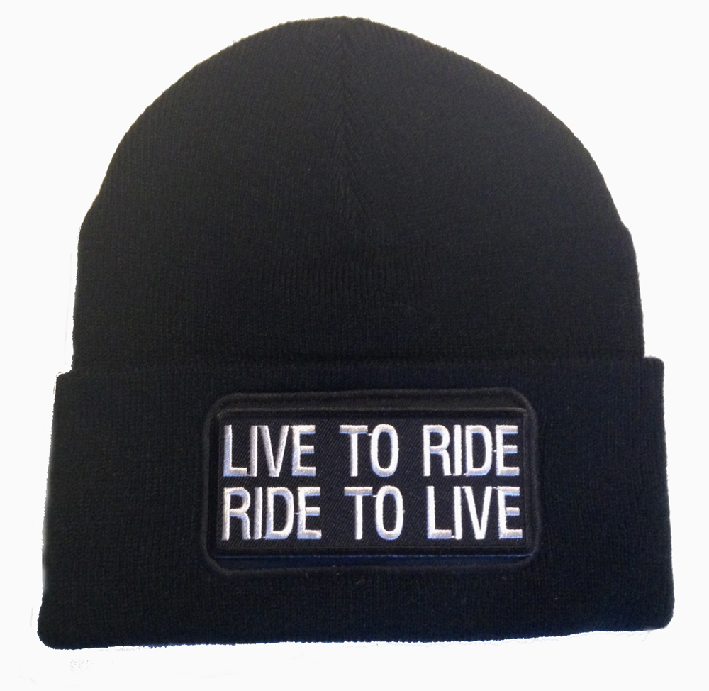 Bonnet Live to ride Ride to live