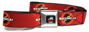 Ceinture Licence the big bang theory - Bazinga