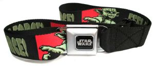 Ceinture Licence Star Wars Yoda Feel the force